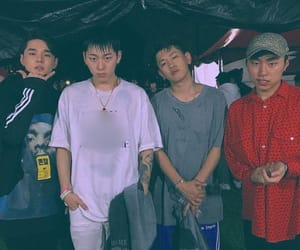 crush, zico, and khiphop image