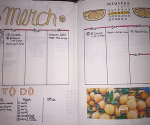 journal, bullet journal, and march image