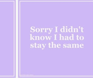 purple, quote, and the front bottoms image