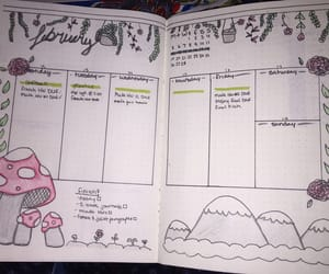 doodles, february, and journal image