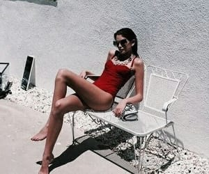 red, summer, and vogue image