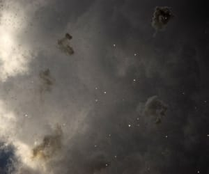 clouds, tumblr, and dark image