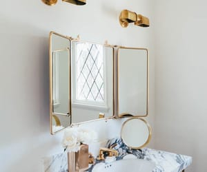 bedroom, decor, and bathroom image