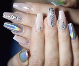 fashion, tumblr, and nails image