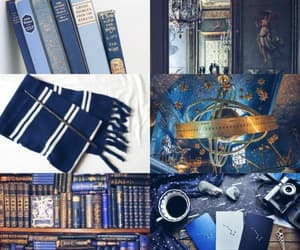 aesthetic, blue, and book image