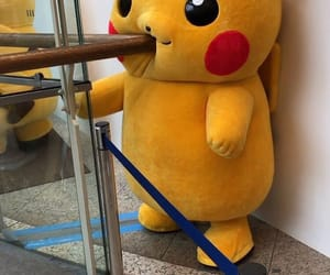 funny, japanese, and pikachu image