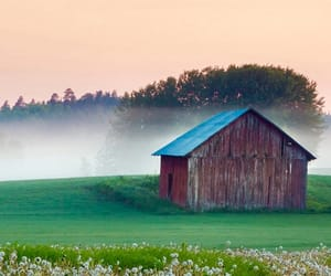 background, barn, and country image
