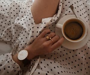 coffee, fashion, and aesthetic image