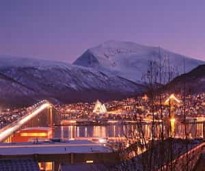 artic, landscape, and norway image