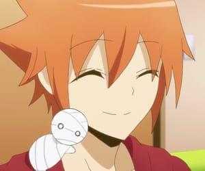 anime, orange, and sweet image