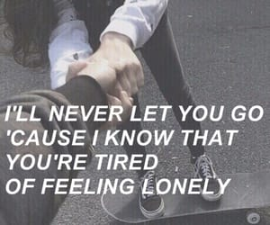 arial, lonely, and feelings image