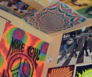 hippie and poster image