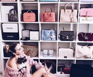 bags, channel, and brands image