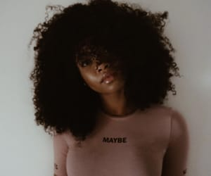 Afro, girl, and black image