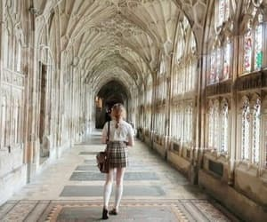 girl, aesthetic, and hogwarts image