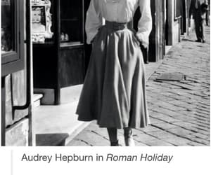 50s, audrey hepburn, and black and white image