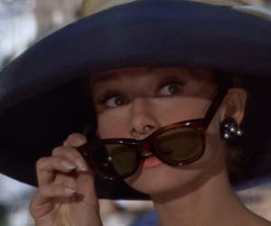 audrey hepburn, Breakfast at Tiffany's, and sunglasses image