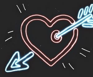 heart, neon, and ed sheeran image