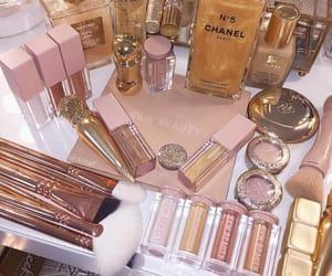 makeup, girly, and nails image