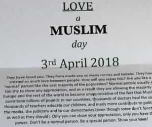 humanity, love a muslim day, and 3rd april image