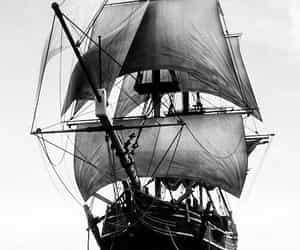 ocean, sea, and ship image