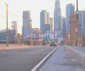 city, los angeles, and la image