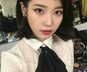iu and leejieun image