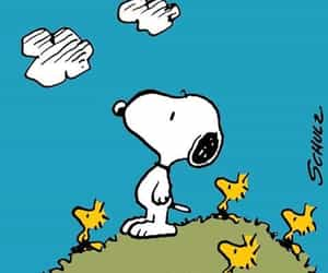 cartoon, dog, and snoopy image