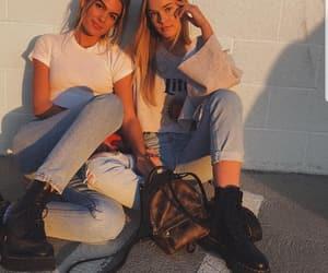 fashion, friendship, and mood image