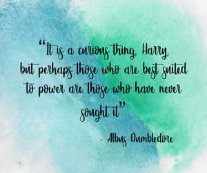 dumbledore, potter, and quote image