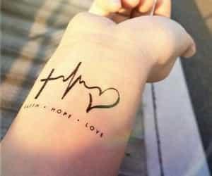 faith and tattoo image