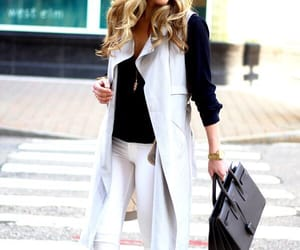 fashion, look, and white image