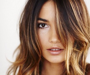 Lily Aldridge, ombre, and model image