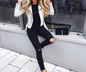 fashion, jacket, and style image
