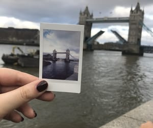london, polaroid, and travel image