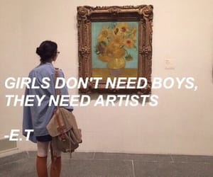 art, girl, and quotes image