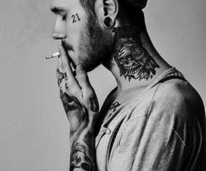 mode, people, and tattoo image