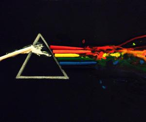 crayon, art, and Pink Floyd image