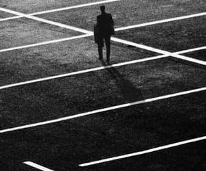 alone, background, and black image