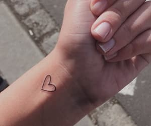 arte, heart, and tattoo image