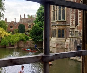 architecture, cambridge, and england image