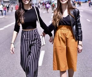 best friends, fashion, and girls image