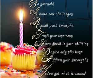 birthday, hbd, and bday wishes image