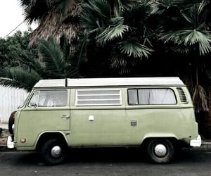 green, car, and van image