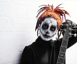 bassist, corpse paint, and motionless in white image