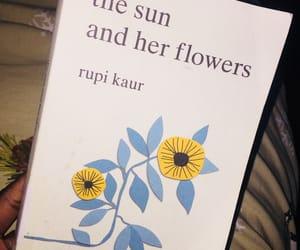 book, rupi kaur, and sunandherflowers image