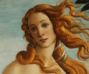 art, botticelli, and afrodita image