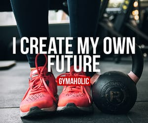 fitness, motivation, and gymaholic image