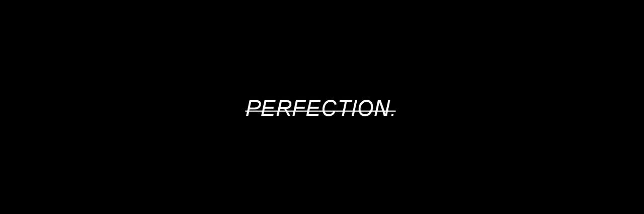 black, illness, and perfection image