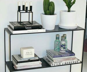 home, decor, and cactus image
